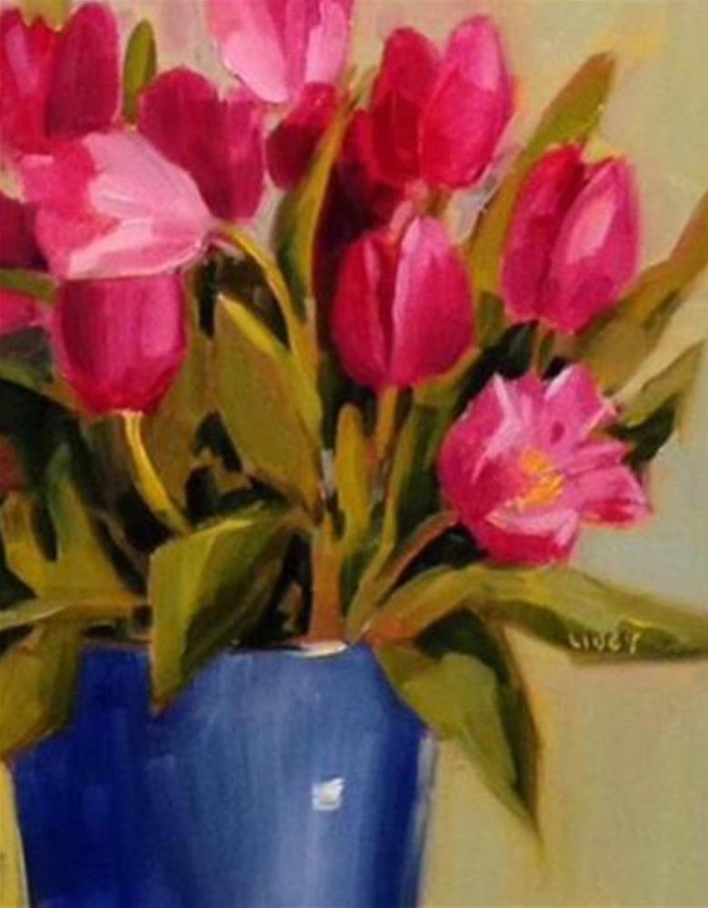 """Best Tulips"" original fine art by Libby Anderson"