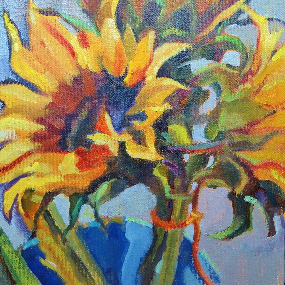 """Bucket of Sunshine"" original fine art by Scarlet Owl Studio"