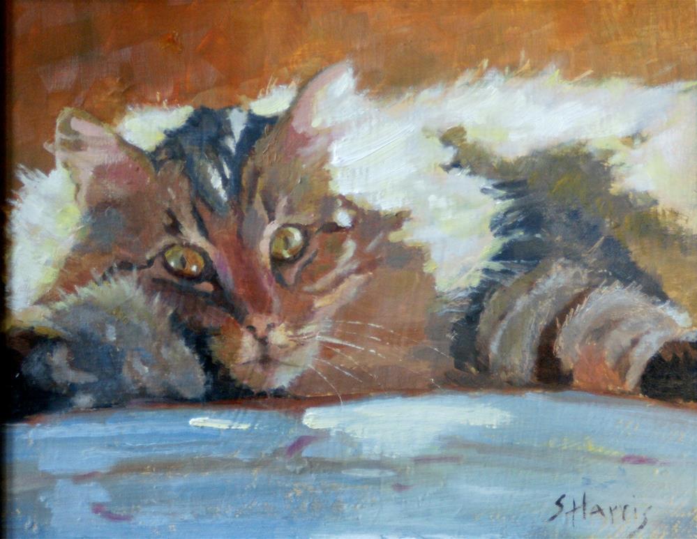 """Sunny Disposition"" original fine art by Sandra L Harris"