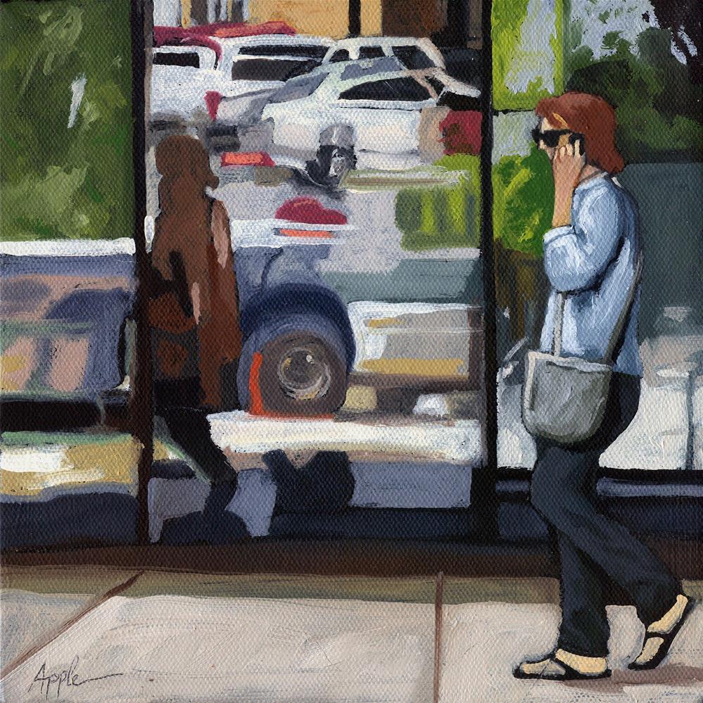 """Reflections"" original fine art by Linda Apple"