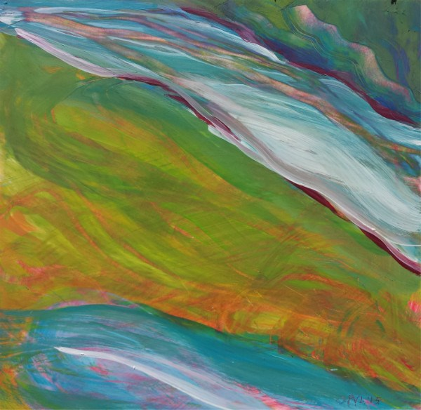 """Valley Morning 37"" original fine art by Pam Van Londen"