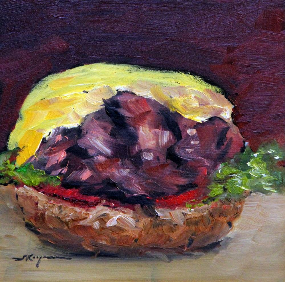 """""""Topless"""" original fine art by Shelley Koopmann"""