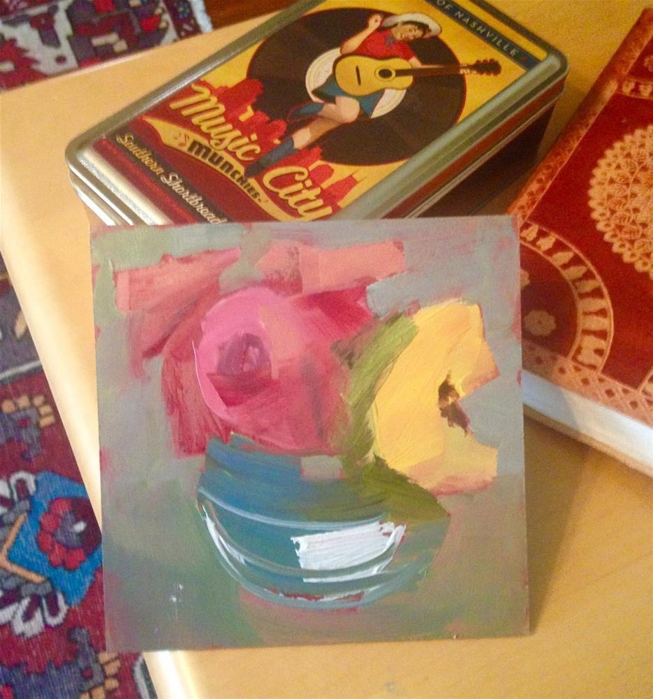 """""""2686 Bluebird Café, Adele and Beyoncé"""" original fine art by Lisa Daria"""