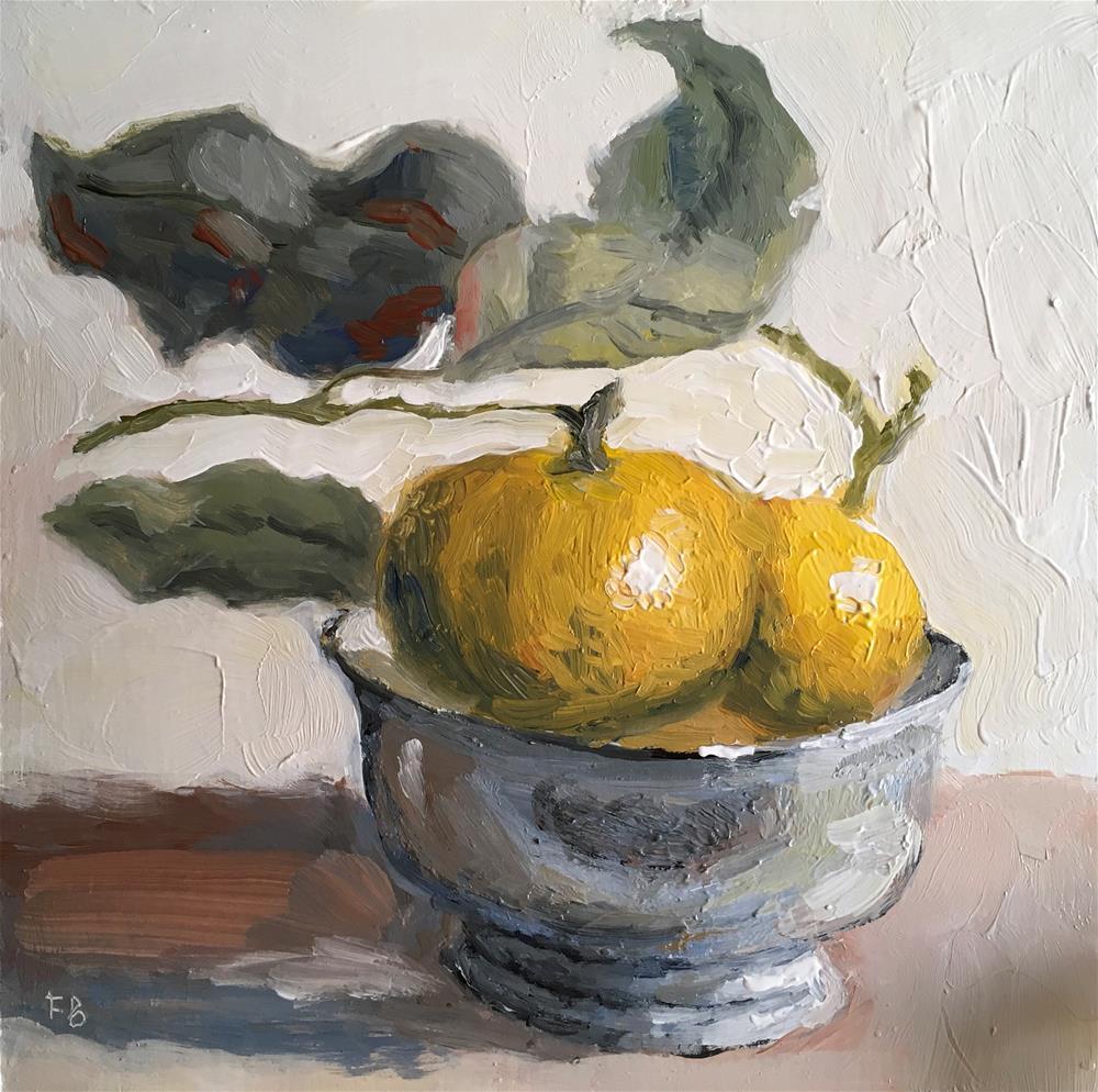 """151 Mandarin Menag"" original fine art by Fred Bell"