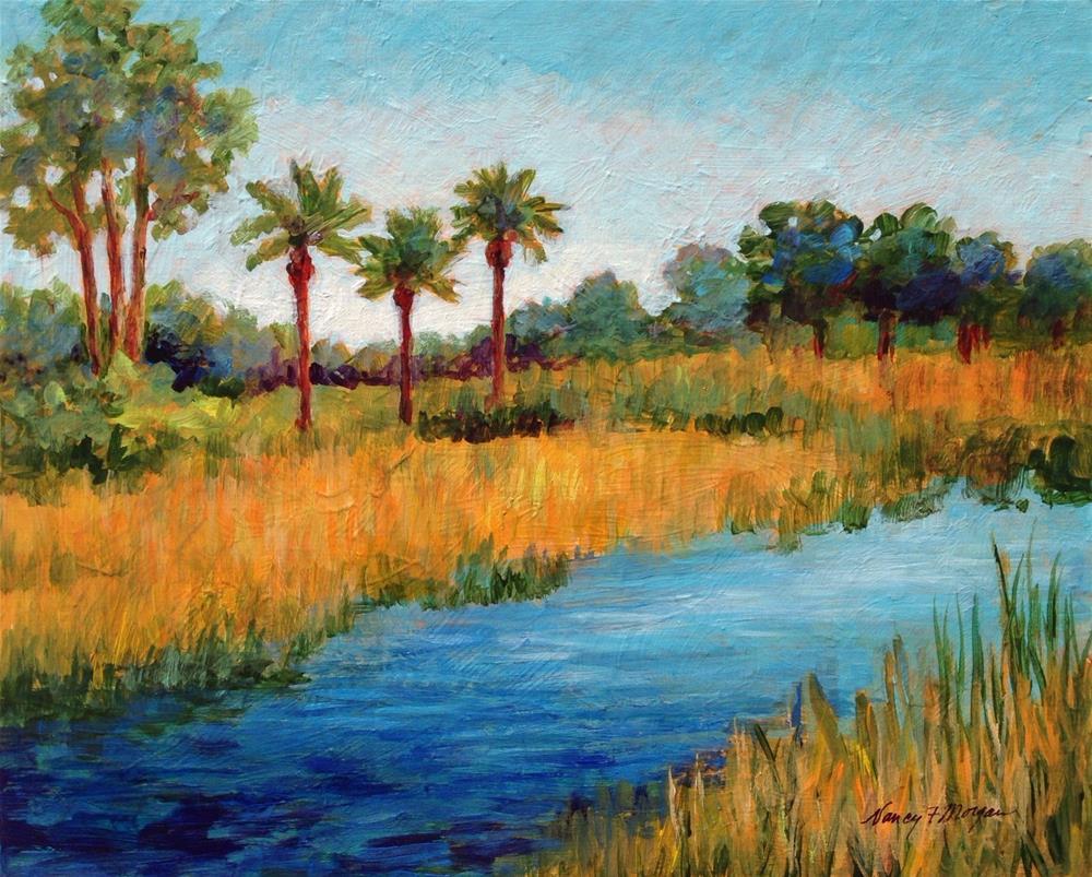 """Another Beautiful Day"" original fine art by Nancy F. Morgan"