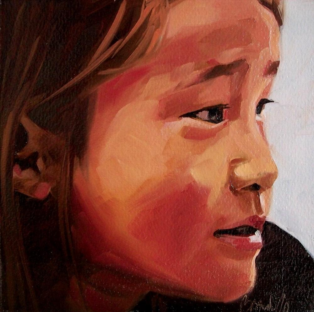 """Girl 20"" original fine art by Brandi Bowman"