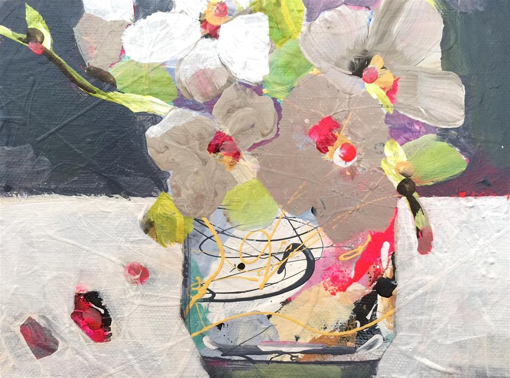 """BassClef_OCT142015"" original fine art by Jenny Doh"