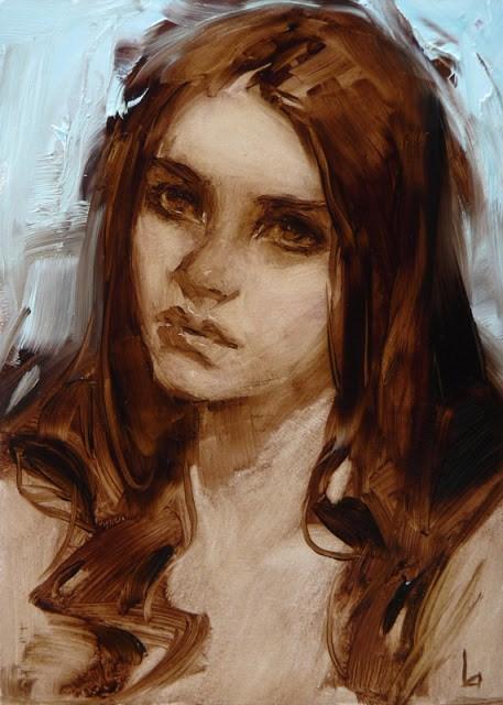 """Lament"" original fine art by John Larriva"