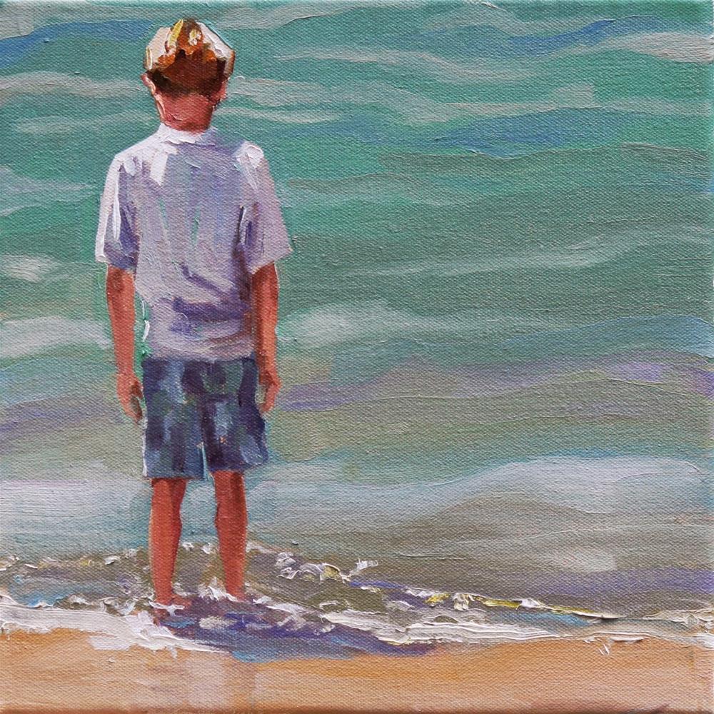 """limbo"" original fine art by Carol Carmichael"
