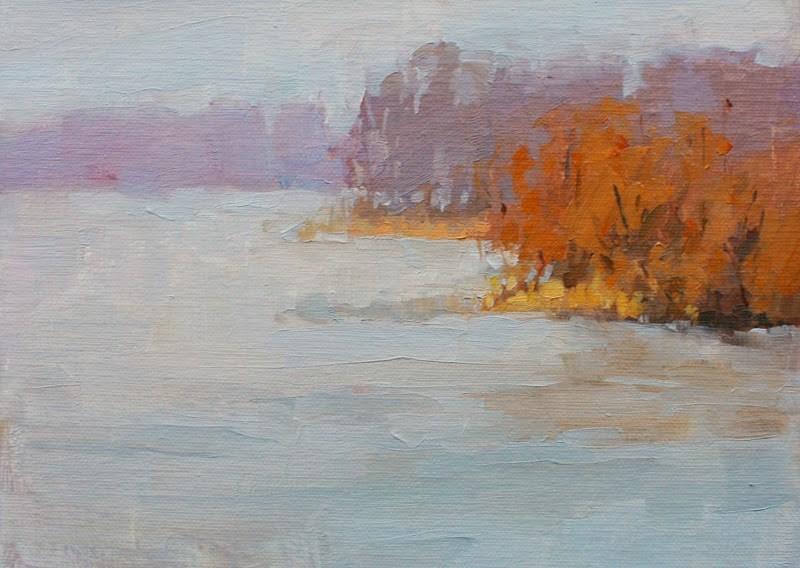 """Marsh"" original fine art by Melanie Thompson"