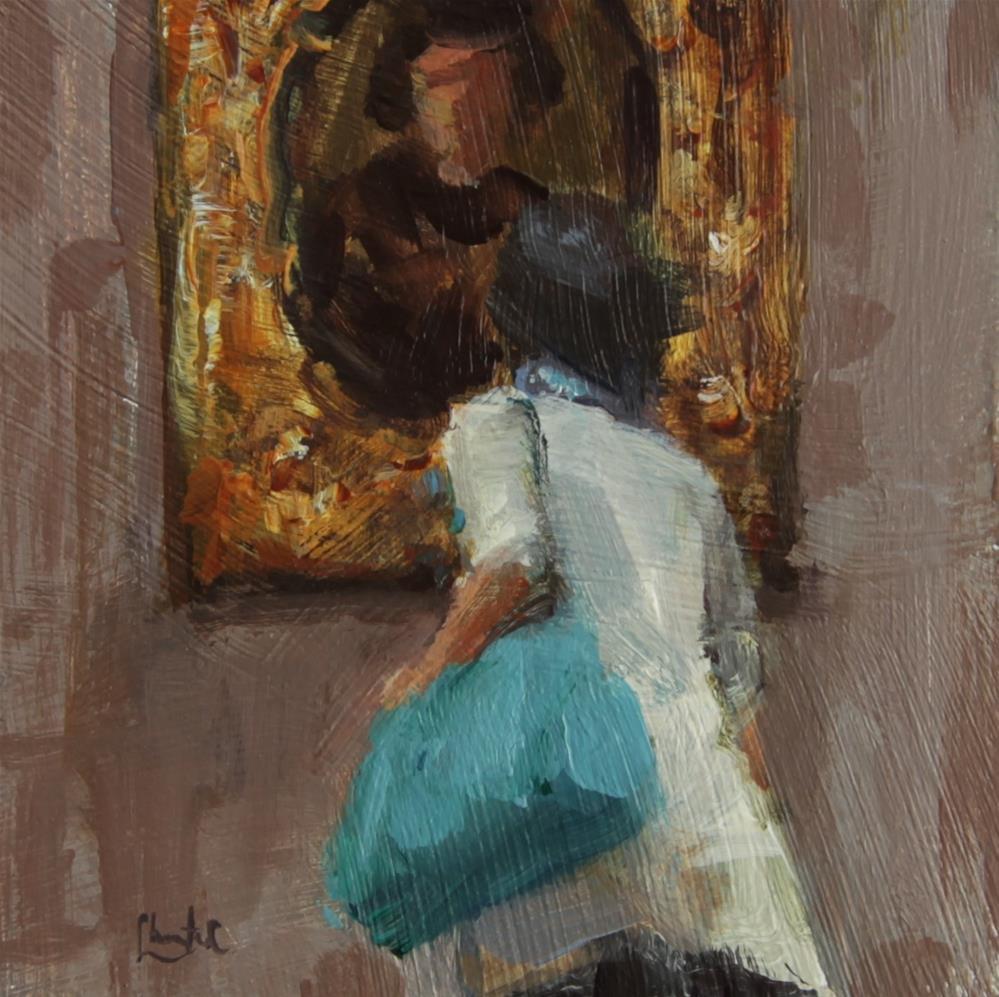 """""""A Closer Look"""" original fine art by Chantel Barber"""