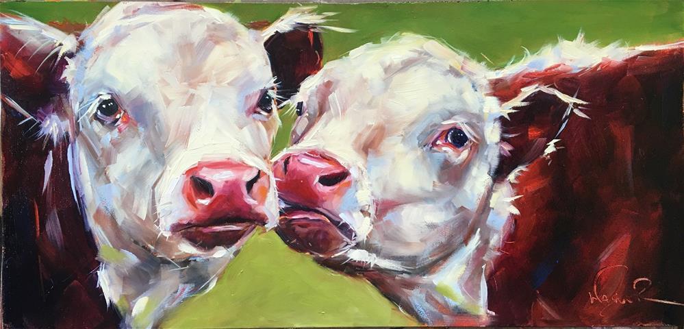 """It's Love"" original fine art by Olga Wagner"