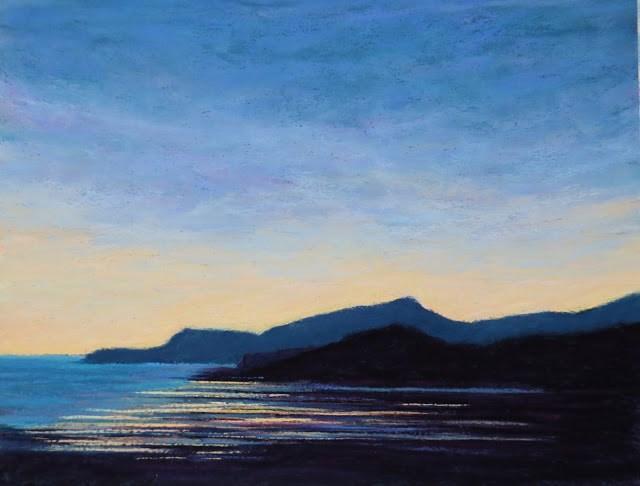 """Northern Shores"" original fine art by Sharon Lewis"