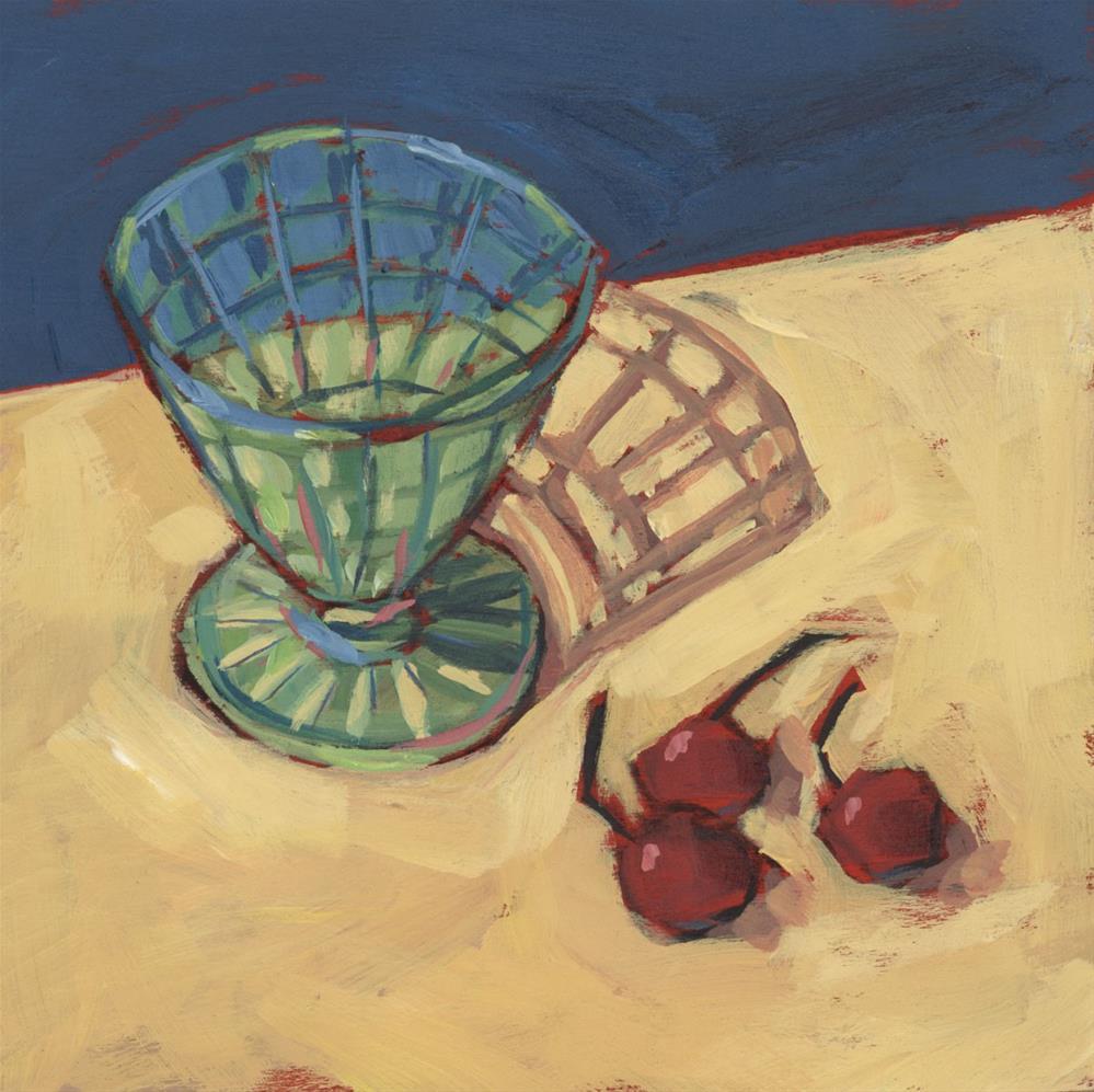 """""""1180: Sweet Cherry Wine"""" original fine art by Brian Miller"""