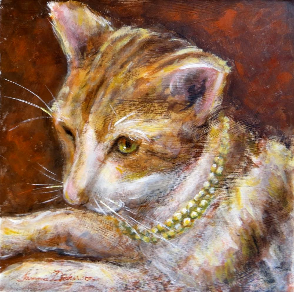 """""""Bejeweled"""" original fine art by Tammie Dickerson"""