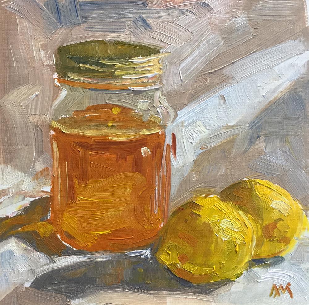 """Lemons and Honey"" original fine art by Austin Maloney"