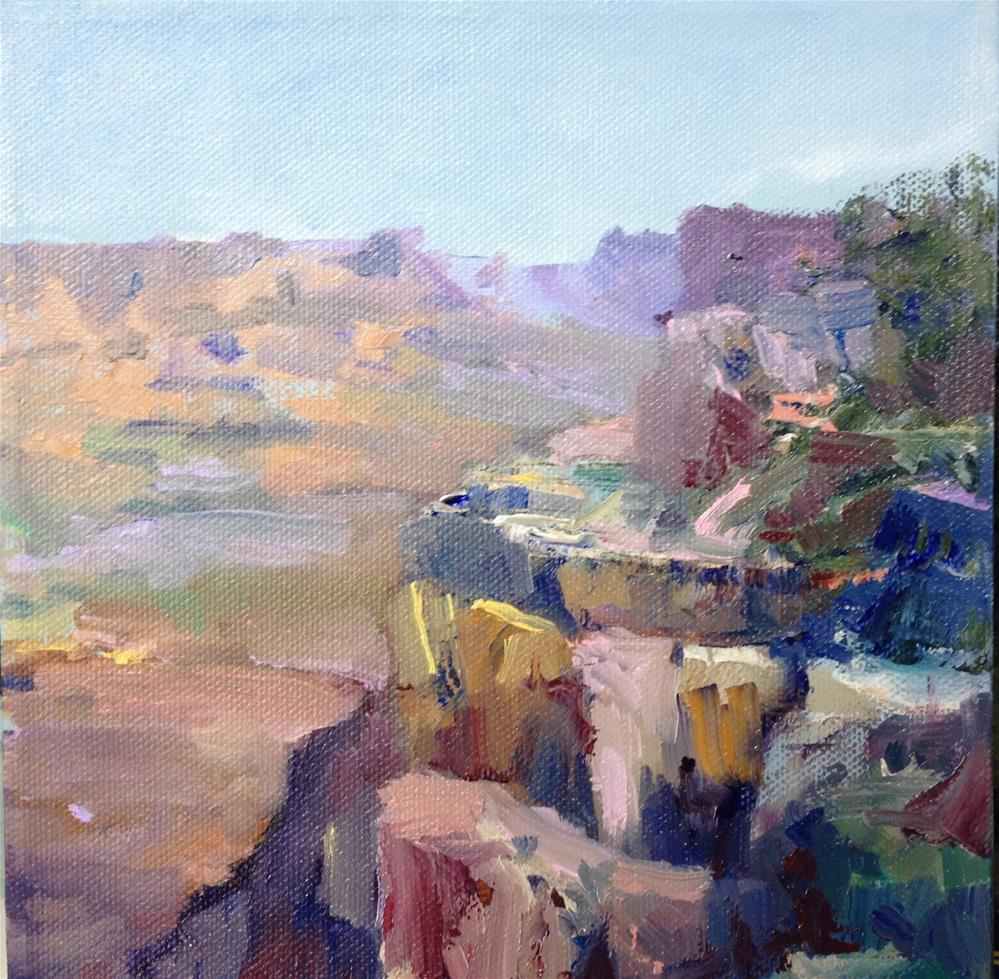 """""""Canyon Colors"""" original fine art by Cathy Boyd"""
