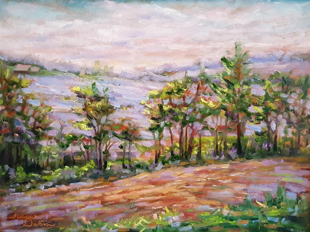 """Heartland Haven"" original fine art by Tammie Dickerson"