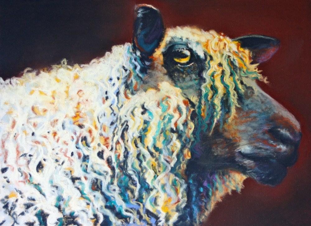 """In Living Color"" original fine art by Jill Bates"