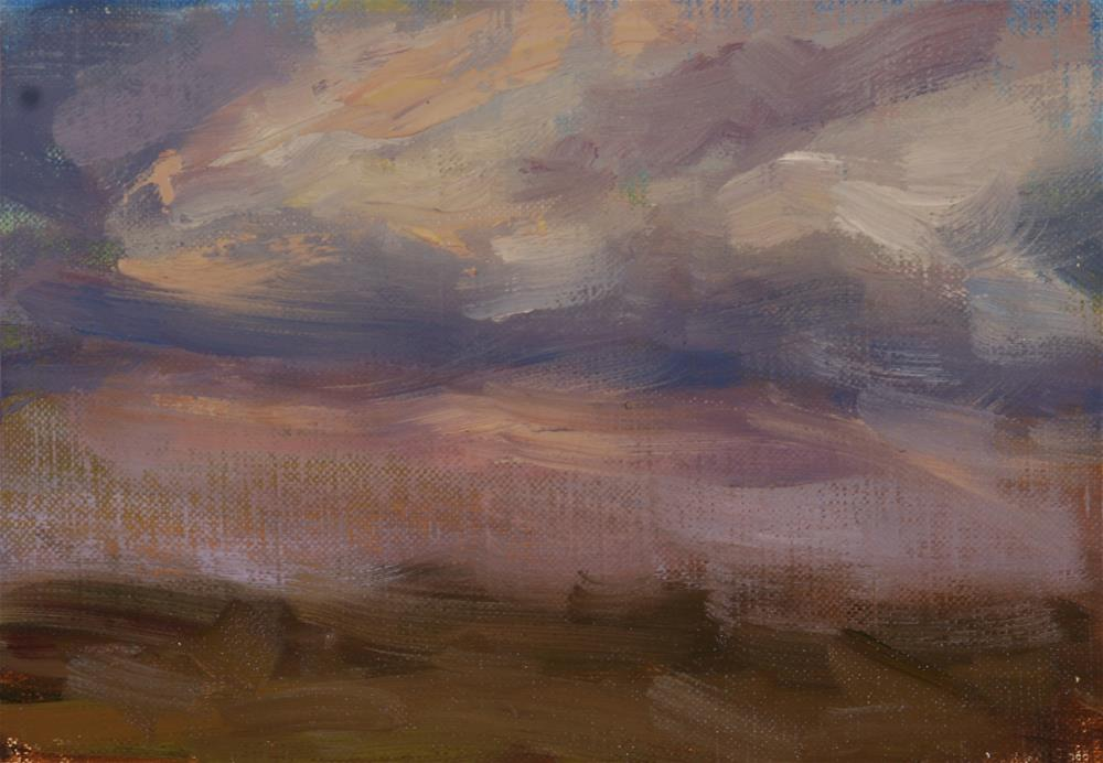 """Summer Sunrise 18"" original fine art by Scott Serafica"