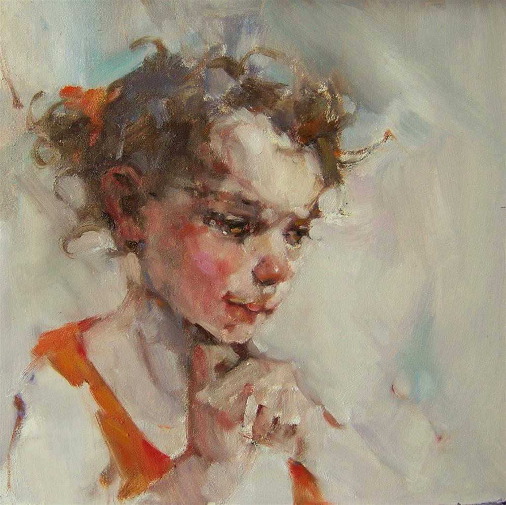 """""""Delight"""" original fine art by Kim Roberti"""