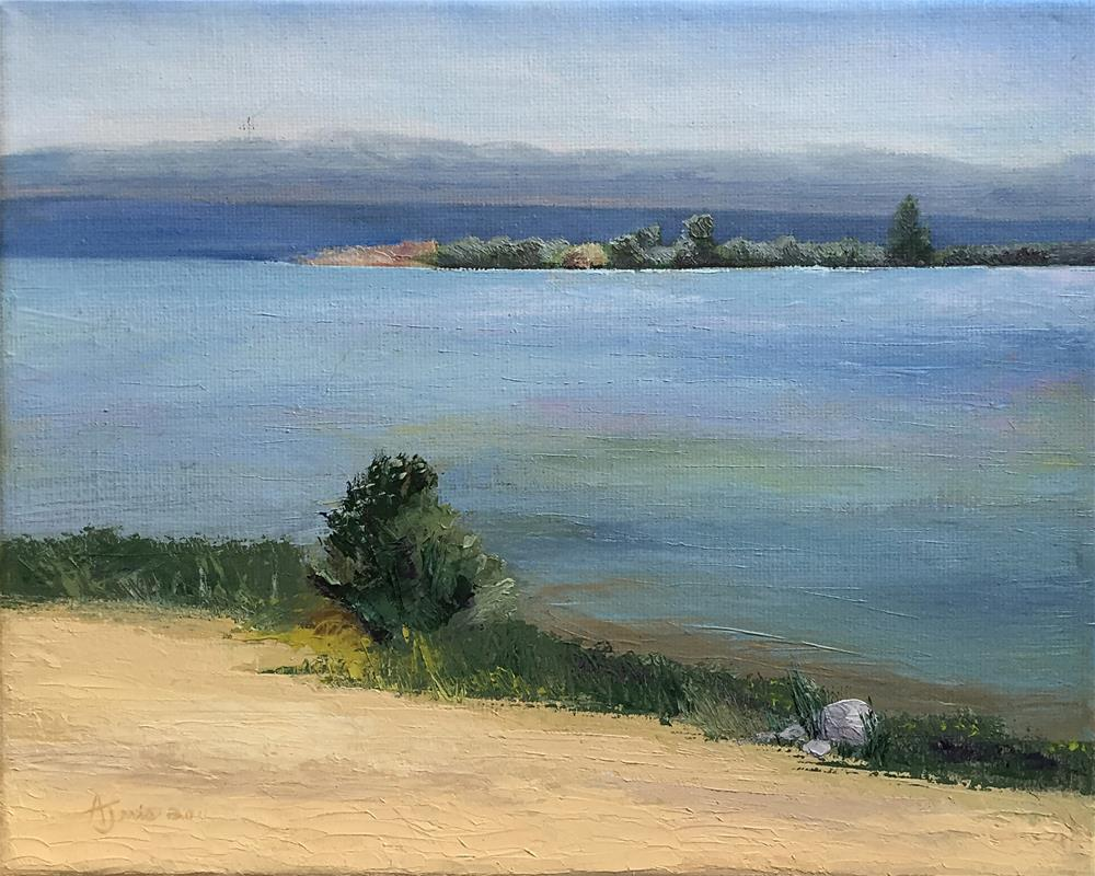 """Grand Traverse Bay II"" original fine art by Andrea Jeris"