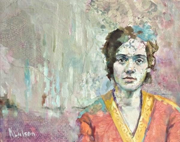"""""""Egyptian Like"""" original fine art by Katie Wilson"""