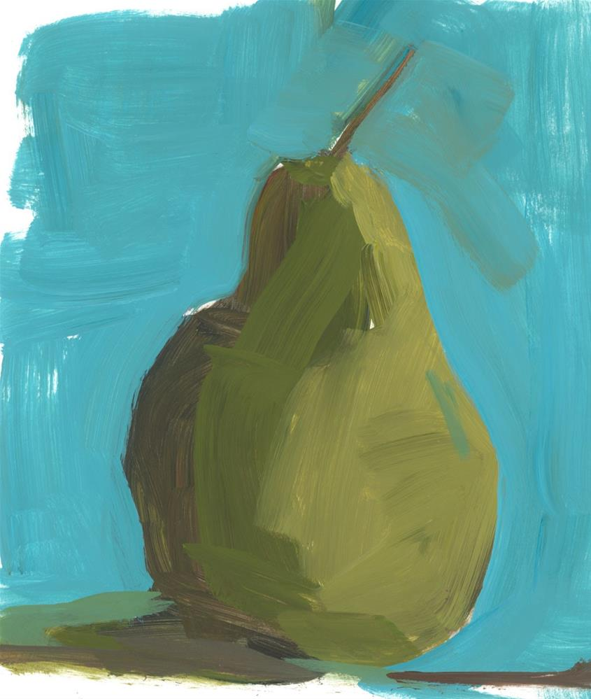 """1121: Pear Demo"" original fine art by Brian Miller"
