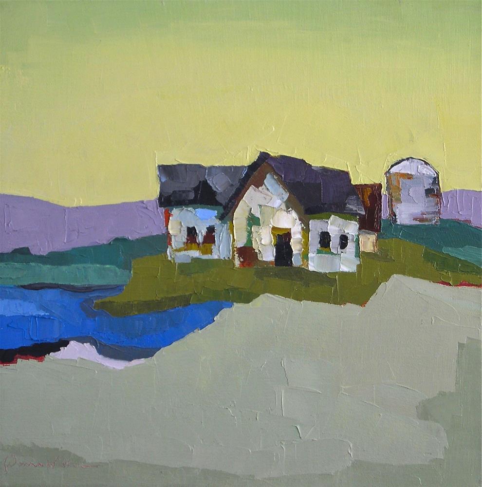 """Somewhere Only We Know"" original fine art by Donna Walker"