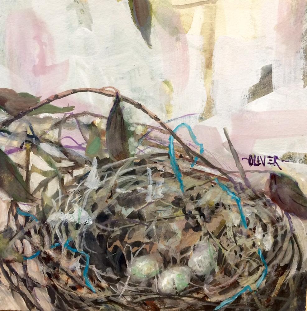 """Watercolor Pleasure"" original fine art by Julie Ford Oliver"