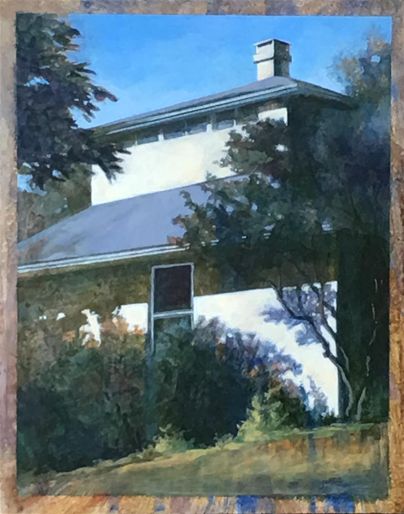 """Geisterhaus"" original fine art by Robyn Jorde"