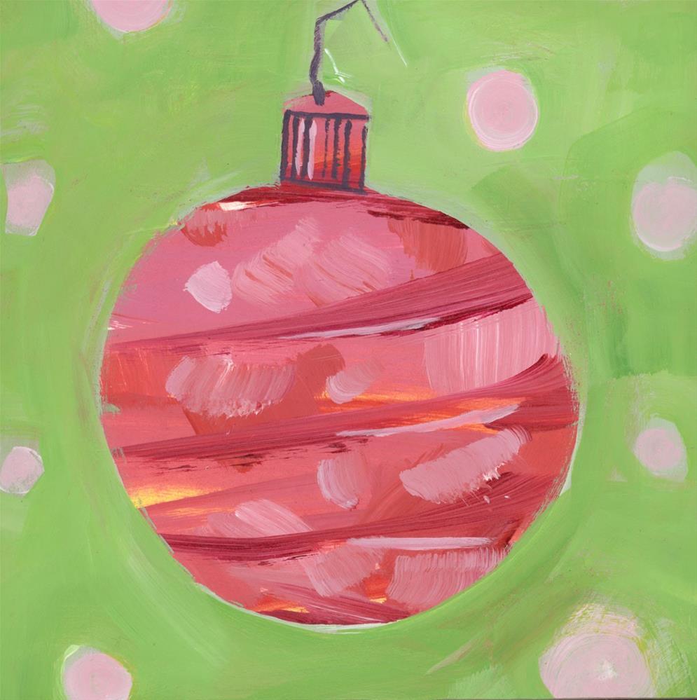 """0949: Groovy Christmas, No. 2"" original fine art by Brian Miller"