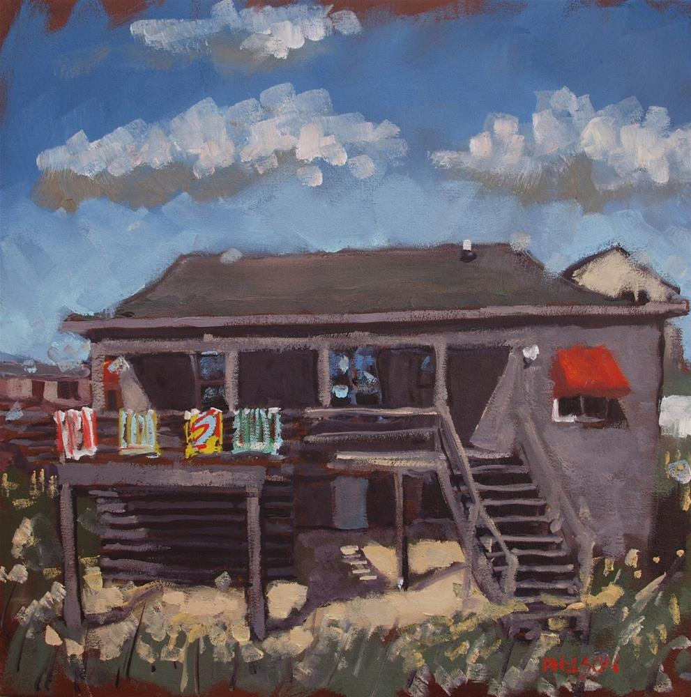 """3121 VDT"" original fine art by Rick Nilson"