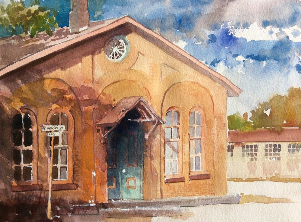 """Marietta Junction"" original fine art by Marita Hines"