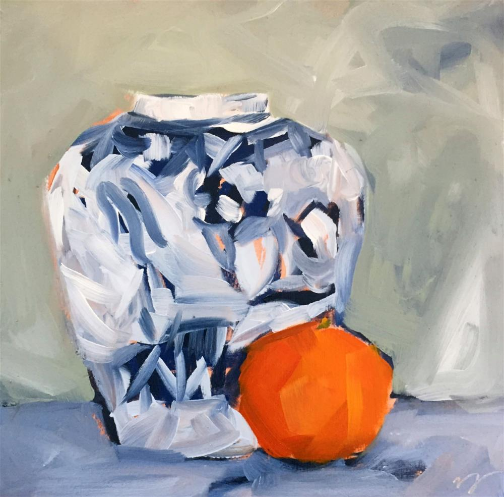 """Blue Ginger "" original fine art by Tammy Silbermann"
