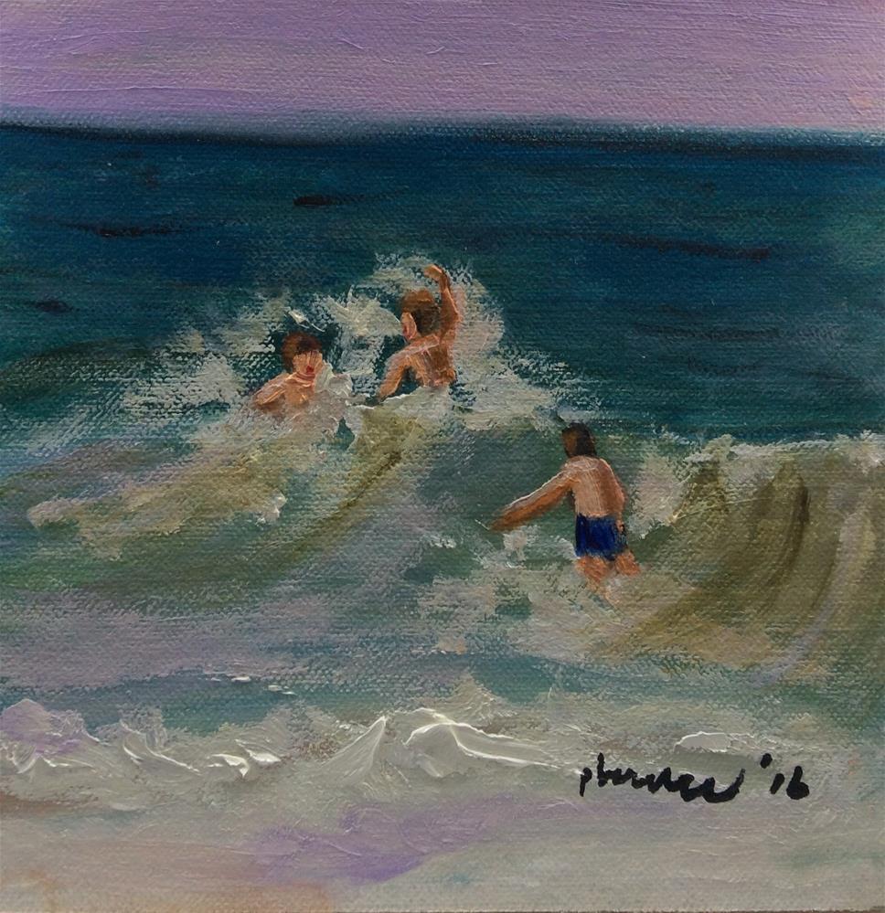 """the guys"" original fine art by Patty Barnes"
