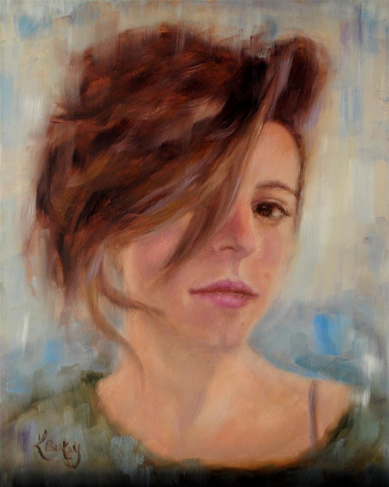 """""""Kelsey"""" original fine art by Kelly Berkey"""