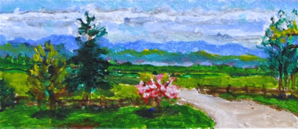 """30-30 #2 day 10"" original fine art by Christine Holzschuh"
