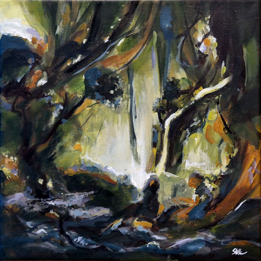 """1240 Fantasy Forest"" original fine art by Dietmar Stiller"