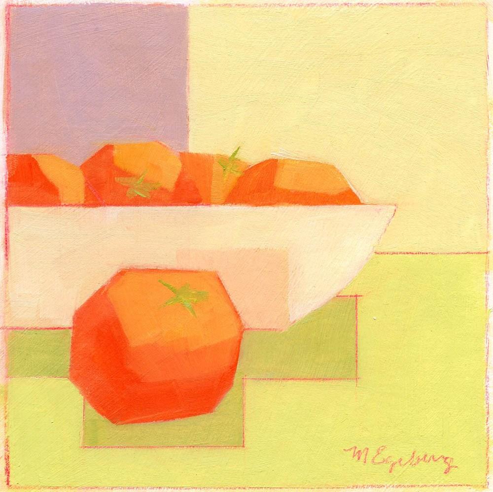 """Tomato Study"" original fine art by Mitch Egeberg"