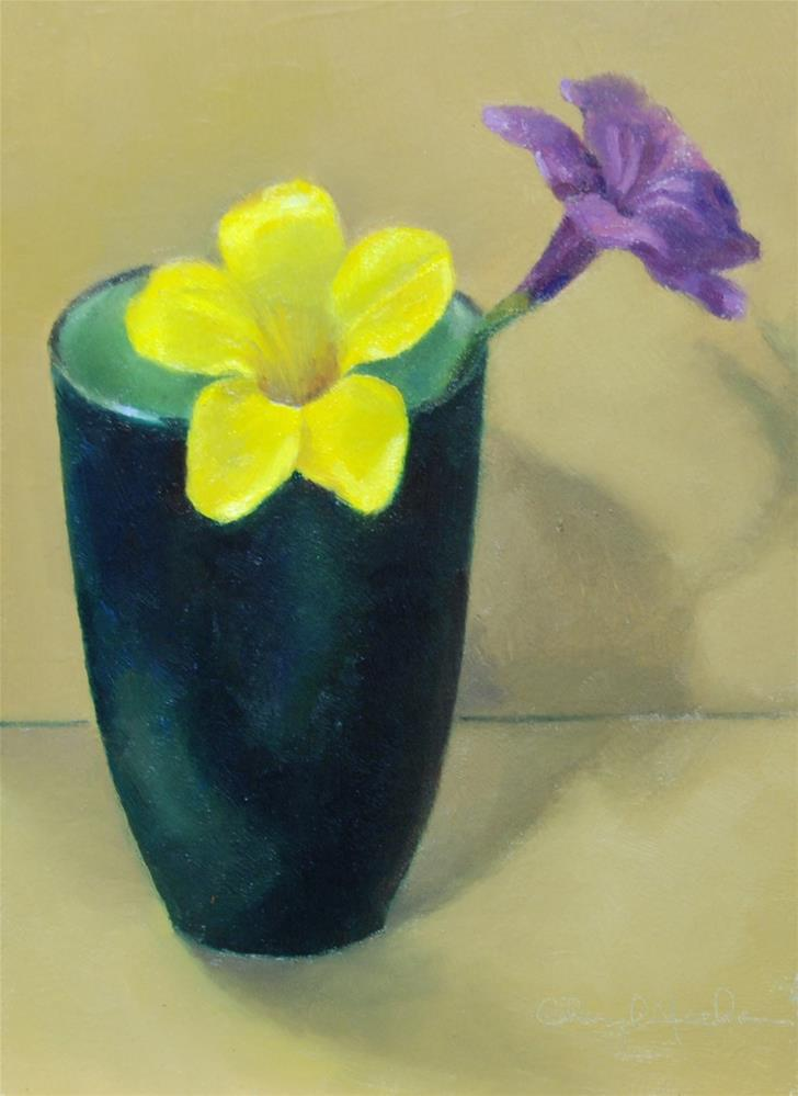 """Florida Flowers"" original fine art by Cheryl Meehan"