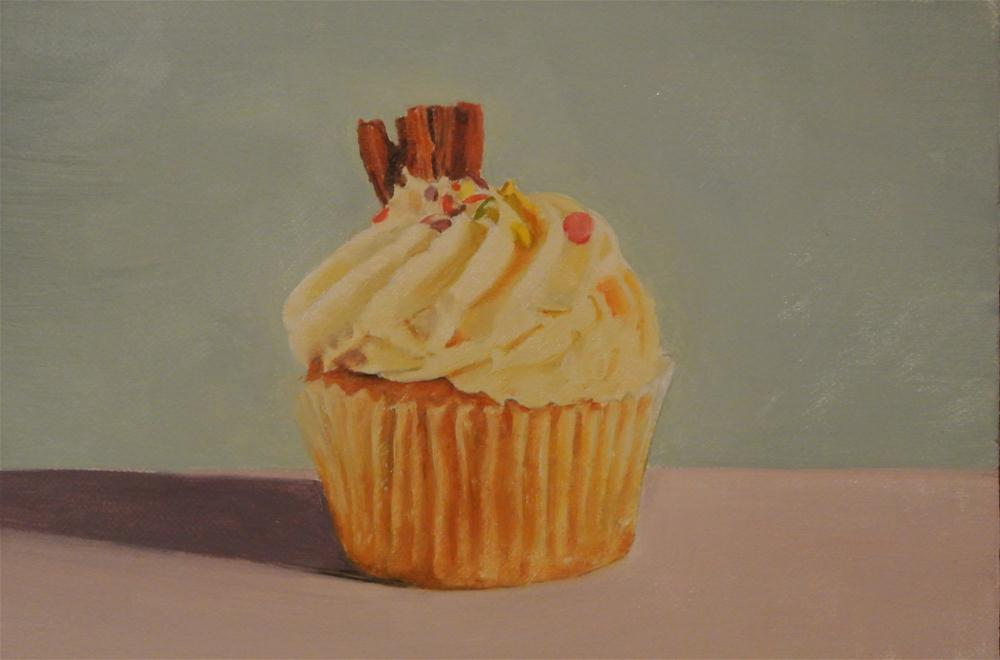 """Cupcake"" original fine art by James Coates"