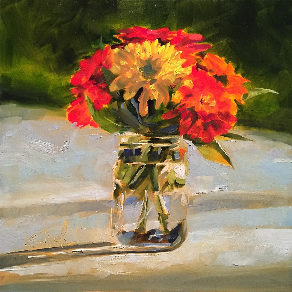 """abundance"" original fine art by Kim Smith"