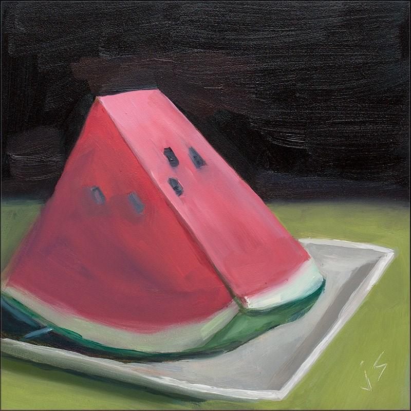 """""""Delish!"""" original fine art by Johnna Schelling"""