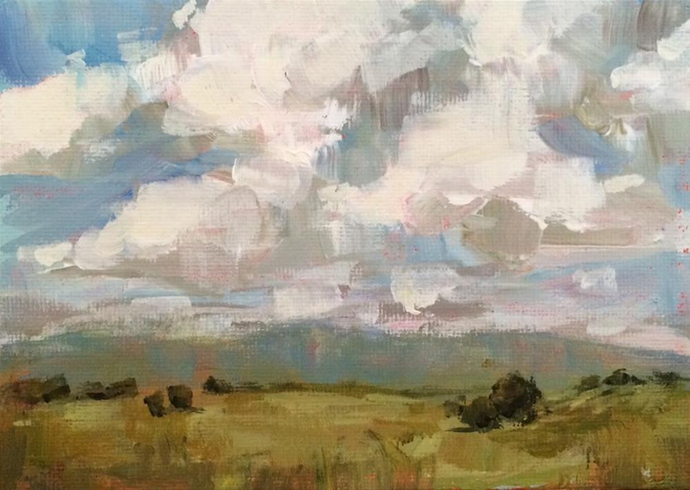 """Distance"" original fine art by Shannon Bauer"