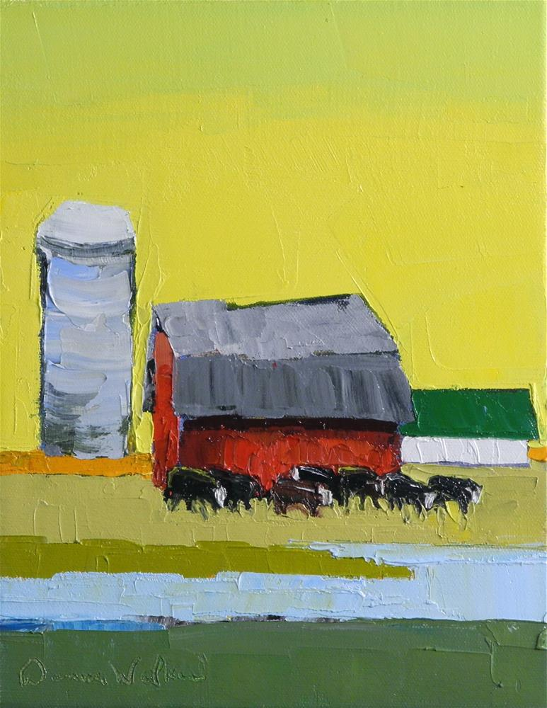 """Sunny Day"" original fine art by Donna Walker"