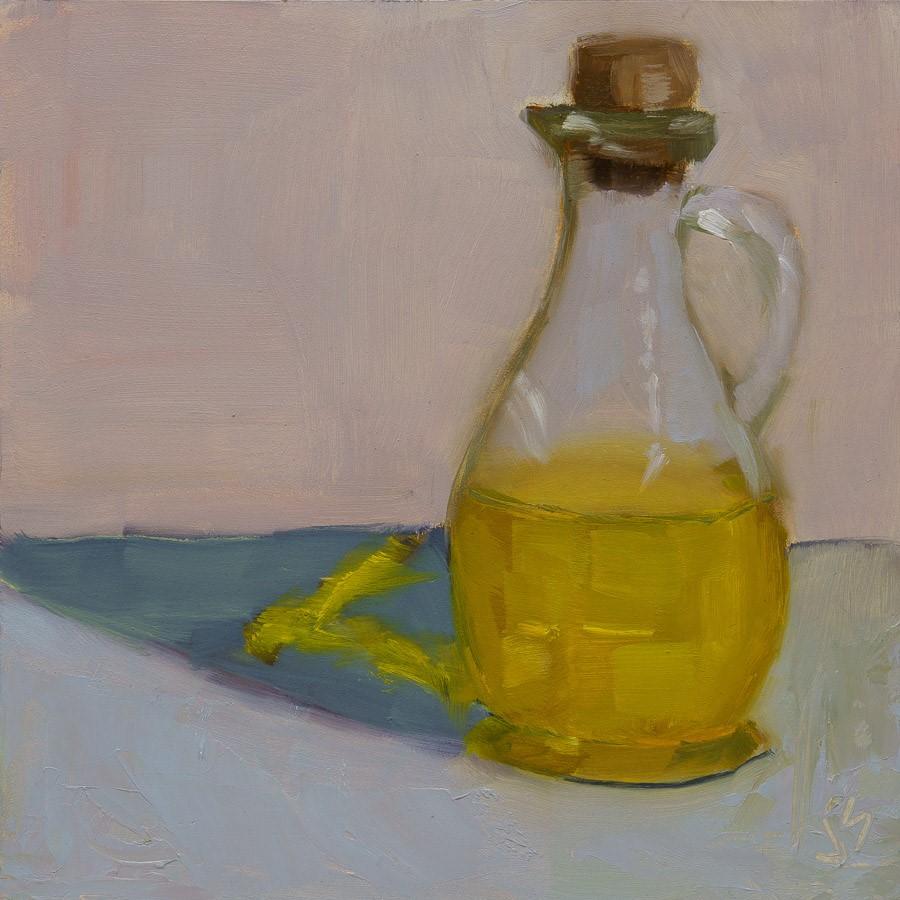 """""""Oil"""" original fine art by Johnna Schelling"""
