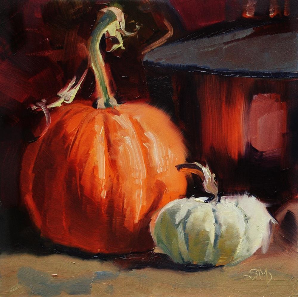 """No. 516 Autumn Still Life"" original fine art by Susan McManamen"