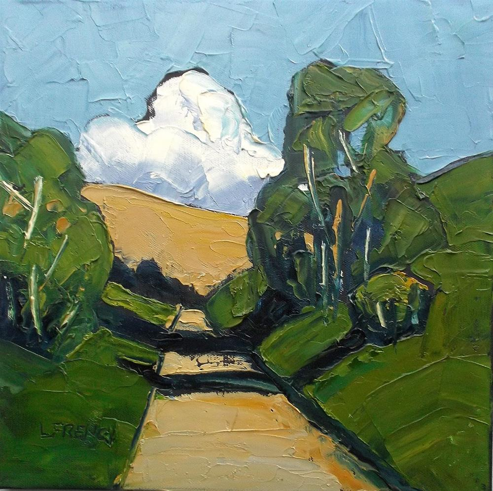 """California Landscape"" original fine art by lynne french"