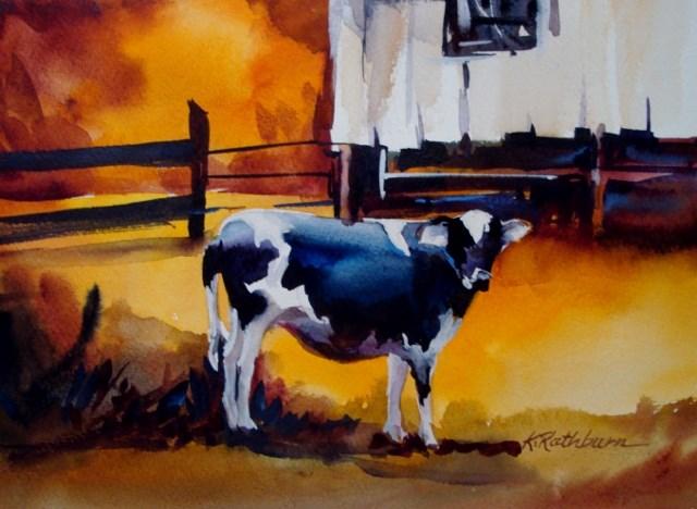 """Anna Belle"" original fine art by Kathy Los-Rathburn"